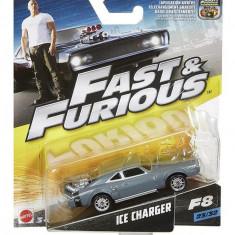 Masinuta Fast & Furious 8 Ice Charger - Masinuta electrica copii Mattel