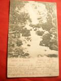 Ilustrata Busteni - Urlatoarea - Salut din Romania- Piesa Clasica 1902goarna 82