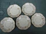 Cinci farfurioare din portelan german ROSENTHAL, Decorative