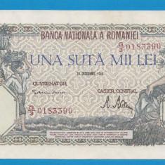 100000 lei 1946 20 decembrie 31 aUNC - Bancnota romaneasca