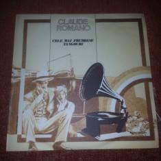 Claude Romano-Cele Mai Frumoase Tangouri- Electrecord EDE 01635 vinil - Muzica Dance