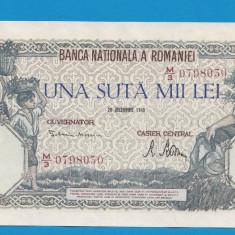 100000 lei 1946 20 decembrie 26 aUNC - Bancnota romaneasca