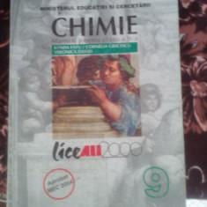 Manual chimie clasa a 9-a sanda fatu cornelia grecescu - Manual scolar all, Clasa 9
