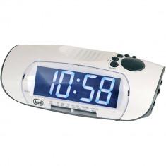 Radio cu ceas TREVI RC850 AM/FM White - Aparat radio