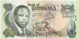 BOTSWANA 10 PULA 2002 UNC