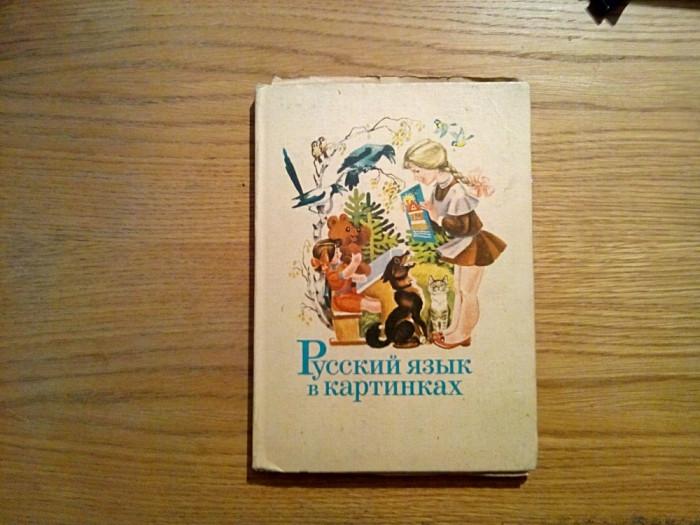 LIMBA RUSA IN IMAGINI (Abecedar) - Partea I - I. V. Barannikoff - 1973, 175 p. foto mare