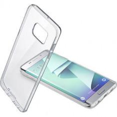 Husa Protectie Spate Cellularline CLEARDUOGALS7ET Bi-Component Transparent pentru Samsung Galaxy S7 Edge - Husa Telefon