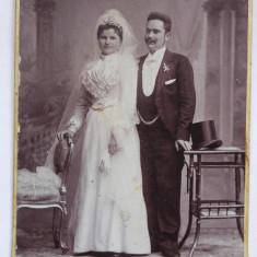 Fotografie veche, sf. sec. XIX, Kossak Jozsef Fotograf, Temesvar, familie, nunta, Alb-Negru, Portrete, Romania pana la 1900