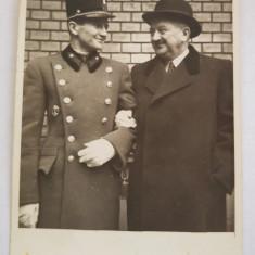 Fotografie veche, 1939, militar, familie, Alb-Negru, Sarbatori, Europa