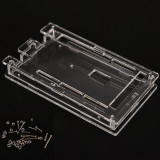 Carcasa Arduino MEGA 2560 R3 / Case enclosure transparent acrylic box (a.443)