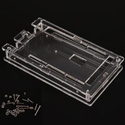 Carcasa Arduino MEGA 2560 R3 / Case enclosure transparent acrylic box (a.443) foto