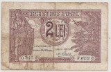 ROMANIA 2 LEI 1938 U