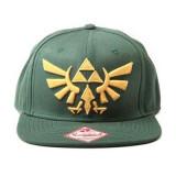 Sapca Zelda Golden Logo Dark Green - Sapca Barbati
