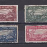 1906 - Expozitia generala - setul de 4 vignete - nestampilate, Sarbatori, Nestampilat