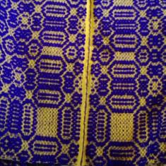 Macat oltenesc covor din lana vechi tesut la razboi peste 70 ani vechime - Covor vechi