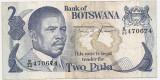 BOTSWANA 2 PULA ND(1982) F