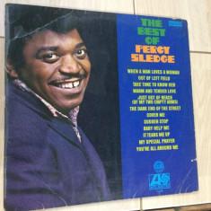 Percy Sledge best of hits atlantic records disc vinyl lp muzica pop soul funk, VINIL