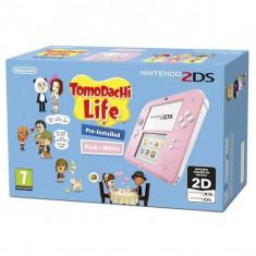 Consola Nintendo 2DS Pink&White Tomodachi Life