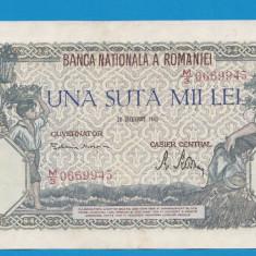 100000 lei 1946 20 decembrie 32 aUNC - Bancnota romaneasca