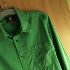 Camasa barbati TIMBERLAND nr.L originala, Marime: L, Culoare: Verde, Maneca lunga