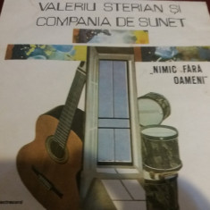 DISC VINIL VALERIU STERIAN SI COMPANIA DE SUNET NIMIC FARA OAMENI - Muzica Folk
