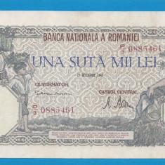 100000 lei 1946 20 decembrie 22 aUNC - Bancnota romaneasca