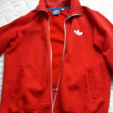 Bluza trening Adidas, culoare rosie , marimea L, f.putin purtata.