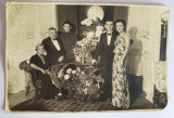 Fotografie veche, 1937, fotograf Schaffer Gy. fotoszalon, Budapesta, familie, Alb-Negru, Portrete, Europa