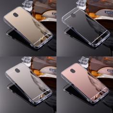 Bumper/ Husa silicon cu spate oglinda Samsung Galaxy  J3 2017