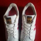 Adidas Superstar originali, marimea 38-24 cm. - Adidasi dama, Culoare: Alb