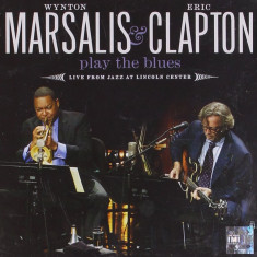 Wynton Marsalis Eric Clapton Play The Blues Live (cd+dvd) - Muzica Blues