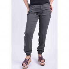 Pantaloni Lungi Vascoza Vero Moda Sunny Day Asphalt - Pantaloni dama Vero Moda, Marime: 34, 36, 38, 40, Culoare: Gri