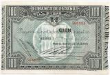 SPANIA BILBAO 100 PESETAS 1937 XF
