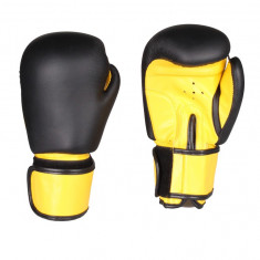 Fighter Manusi box negru-galben 8 oz