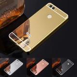 Cumpara ieftin Husa / Bumper aluminiu + spate acril oglinda pentru Huawei nova 2 plus