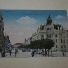 Cp veche timisoara bulevard carol 1 cp12 - Carte Postala Banat dupa 1918, Circulata, Printata