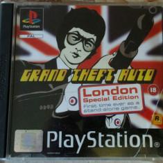 vand joc ps1 colectie ,playstation 1 , GTA LONDON SPECIAL EDITION , ca nou
