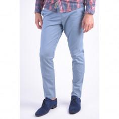 Pantaloni Bumbac Jack&Jones Marco Enzo Slim Fit Citadel - Pantaloni barbati, Marime: 33, Culoare: Albastru