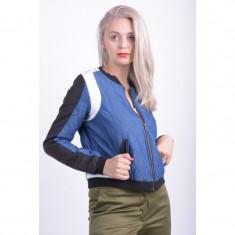 Jacheta Selected Xenia Bomber Negru Albastru