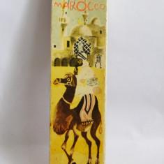 Marocco, joc romanesc vechi, 1976, perioada comunista, complet, de colectie - Jocuri Litere si Cifre