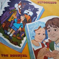 BASME. PINOCCHIO. TOM DEGETEL - DISC VINIL - Muzica pentru copii