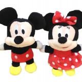 Set Mickey si Minnie plus 18cm rosu - Jucarii plus