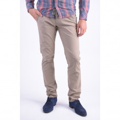 Pantaloni Bumbac Selected One Luca Chino Gri Deschis - Pantaloni barbati, Marime: 31, 32, 33, Culoare: Maro