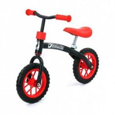 Bicicleta fara Pedale Bebelusi Rider Black Red - Bicicleta copii Hauck