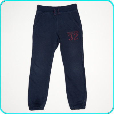 DE FIRMA → Pantaloni trening, comozi, bumbac, ZARA → baieti | 7—8 ani | 128 cm foto