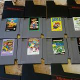 vand jocuri NES de colectie,ca noi ,huse, NINTENDO , PACHET 8 BUC
