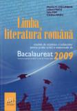 Limba și literatura română - Bacalaureat 2009
