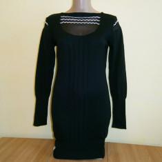 Rochie dama mulata, neagra, mar S, in stare buna! - Rochie tricotate, Culoare: Din imagine, Marime: S