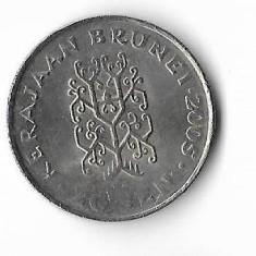 Moneda 20 sen 2005 - Brunei, Africa