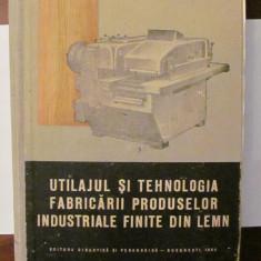 PVM - Utilajul si Tehnologia Fabricarii Produselor Industriale Finite din Lemn